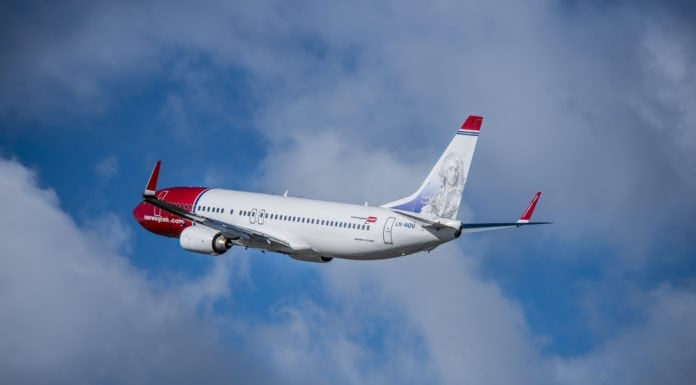 Norwegian Introduces Third Daily Flight From New York to London