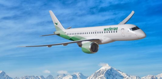 Widerøe's Embraer E190-E2 will operate Bergen - Liverpool from August 17th